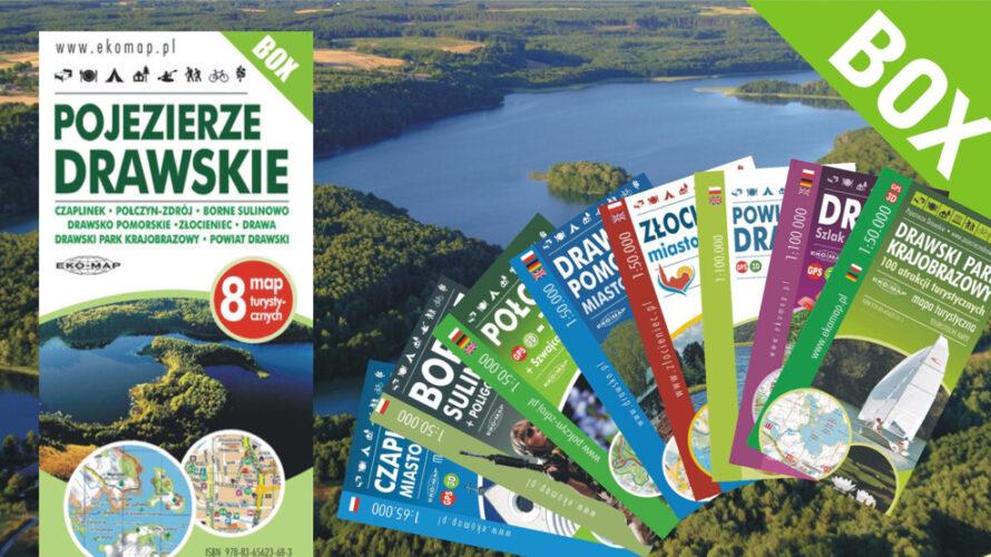 W sprzedaży ukazał się kolejny, duży zestaw – tym razem jest to komplet map związanych z Pojezierzem Drawskim.