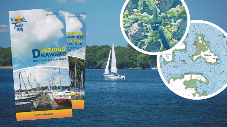 Największe jezioro Pojezierza Drawskiego doczekało się przewodnika żeglarskiego.