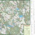 Skala: 1:110.000 Format: ~B2 (66×47 cm) Język:polski Rok wydania:2019 Wydawca:EKO-MAP ISBN: 978-83-65623-50-8  Część kartograficzna: mapa powiatu szczecineckiego wraz […]