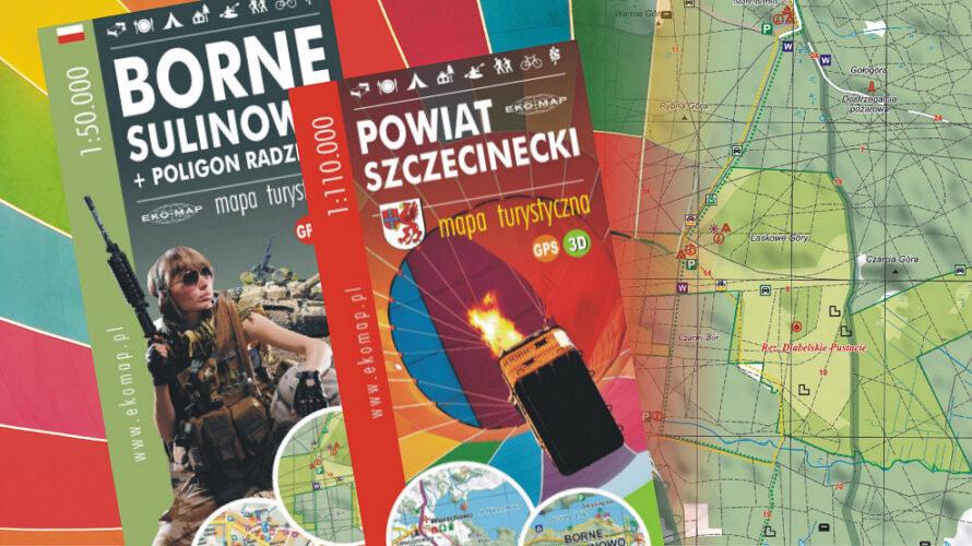 """Na początku sezonu wakacyjnego ukazały się dwa wznowienia map związanych z Pojezierzem Szczecineckim. Mapa """"Borne Sulinowo + poligon radziecki"""", wydana […]"""
