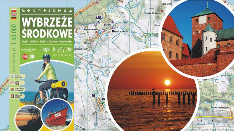 """""""Wybrzeże Środkowe"""" to pozycja dedykowana miłośnikom nadmorskiej turystyki rowerowej. Zasięg mapy w przybliżeniu pokrywa się z obszarem ujętym w ubiegłorocznej […]"""