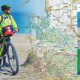 Kolejna publikacja turystyczna wydawnictwa EKO-MAP dotyczy turystyki rowerowej w centralnej części wybrzeża Bałtyku.